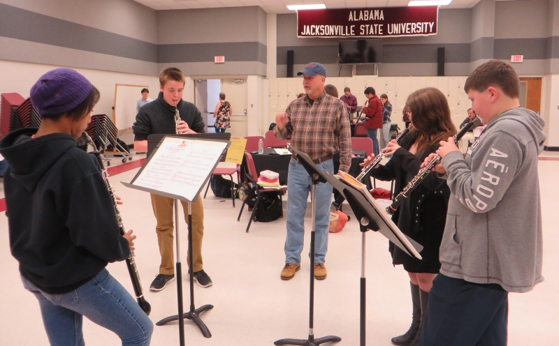 Our new JSU English Horn was tested by participants in Chamber Music lead by our Alumnus, Evan Ledford!