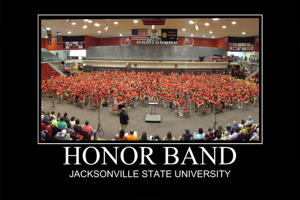 Pic. Courtesy of JSU Band Department