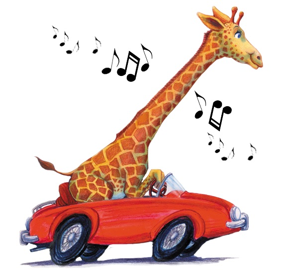 7-funny-giraffe-music-driving-in-red-car