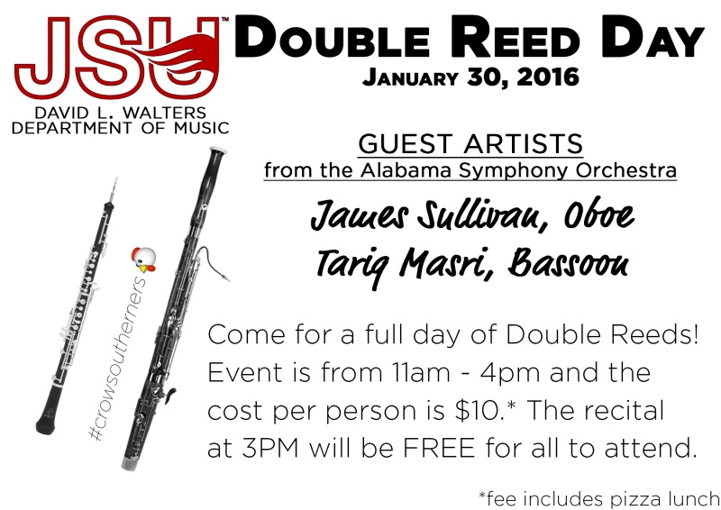 Double Reed Day Back