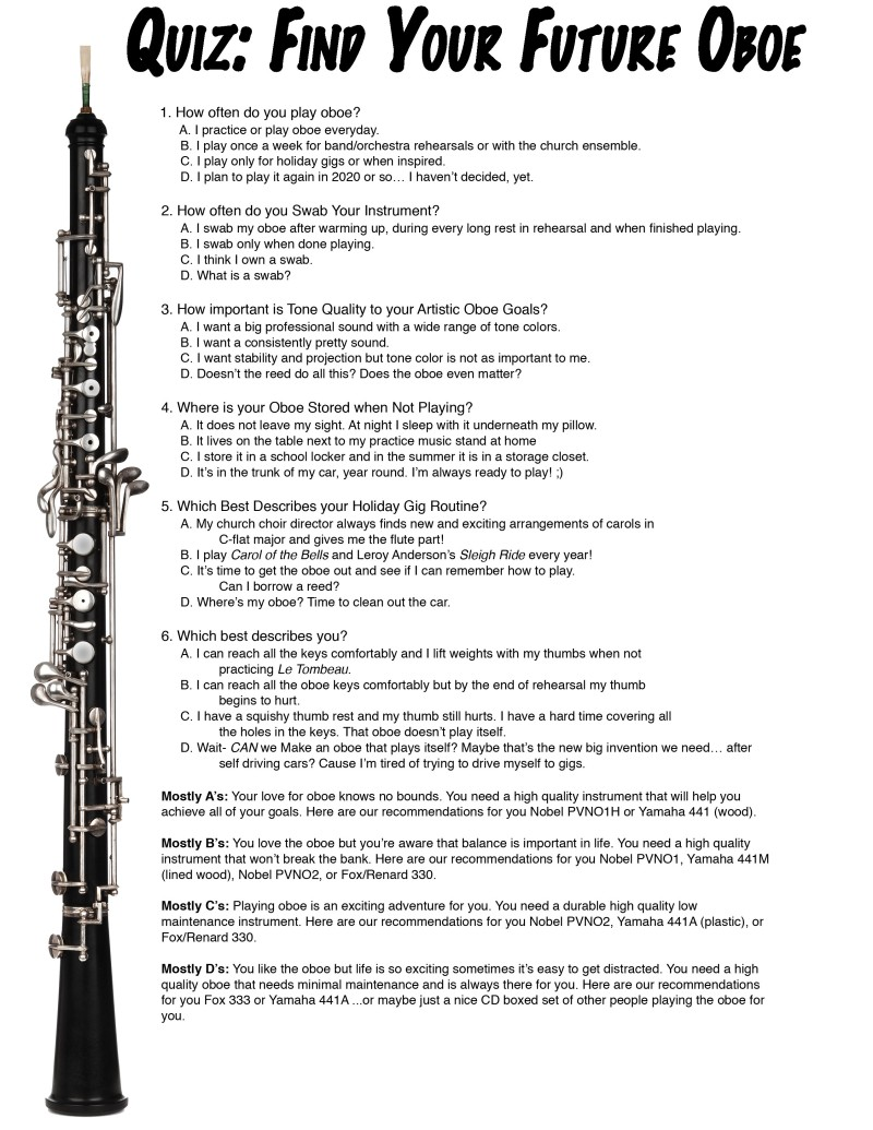 finding an affordable oboe guest erica howard erynoft oboe quiz